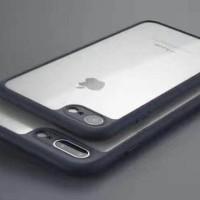 Silicon Hardcase Iphone 7 / 7 Plus TPU Fuze Transparan Soft Bumper .