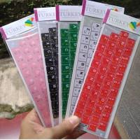 Stiker keyboard Arab arabic Buat Leptop PC Netbook