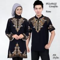 harga |ftn| Pakaian Couple Baju Muslim Warna Hitam (pelangi Couple Ak) Tokopedia.com
