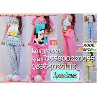 Harga baju tidur wanita 3pcs murah / baju tidur wanita online