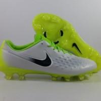 Sepatu Bola Nike Magista Opus 2 WHite Volt FG Replika Import