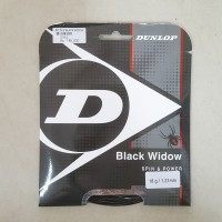 DUNLOP BLACK WIDOW SPIN POWER SNAR TENIS LAPANGAN