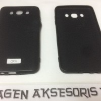 GARANSI Slim Black Matte Samsung J710 J76 J7 2016 5.5 inchi Flexible T
