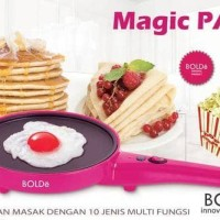 MAGIC PAN BOLDe WAJAN LISTRIK MULTIPURPOSE ELECTRIC FRY PAN POP CORN