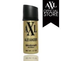 Jual AXL Alexander Deodorant Spray Gold 150 ml Murah
