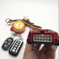 AKSESORIS MOTOR alarm agiva edisi model mobil STOK TERBATAS