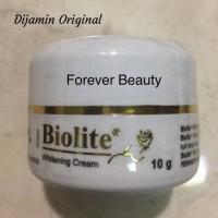 Jual Biolite whitening cream - krim flek/ pemutih/pencerah wajah aman Murah