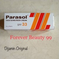 Parasol cream SPF 33 Face Sunblock / Sunscreen 20 gr