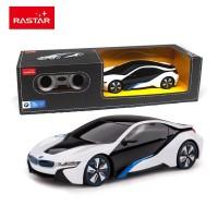 RC RASTAR Mainan Mobil Remot Kontrol BMW i8 1:24 Original Licensed
