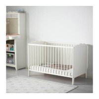 IKEA HENSVIK Ranjang Bayi Putih 60x120 cm