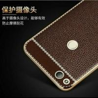 TPU Leather metal bumper case Xiaomi Redmi 4x