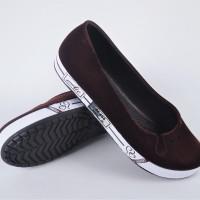 Jual Sepatu Perempuan Model Bludru ATT Terjamin Lucu Murah