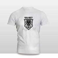 Kaos distro Kaos Baju Pakaian GAME CALL OF DUTY TENGKORAK 2 Murah
