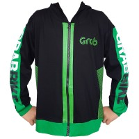 Baju Jaket Hoodie Anak Grab Bike GrabBike