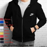 jaket zipper nike with premium Polyflex