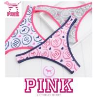 New Pink VS Victoria's Secret Gstring Thong Celana Dalam Wanita Bikini