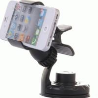 Promo Dudukan Ponsel / Smartphone untuk Mobil dengan Pemutar dan Pene