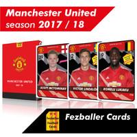 Kartu Fezballer Cards MANCHESTER UNITED season 2017/2018