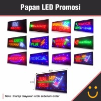 Papan Led Display Promosi ( Promosi Toko )