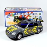 Mainan Mobil Polisi Jalan Raya, Bump & Go ada Suara Sirine dan Lampu