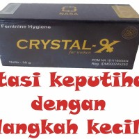Cara Pemakaian Crystal X  Bahaya Crystal X [[ FRESH ]]