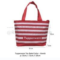 Tupperware Tas Model Salur - dilengkapi seleting (MERAH/BIRU)Hot Item!