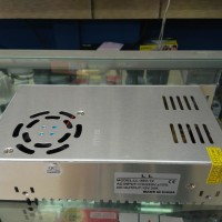 Power Supply 12V 30A Switching Trafo Jaring Dgn Kipas Fan Top Murah