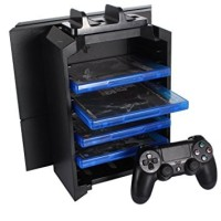multifunction cooling stand dock fan playstation PS 4 PS4 slim pro fat