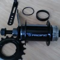REM TORPEDO / TERPEDO / COASTER BRAKE PACIFIC 36H BMX FIXIE BLACK