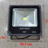 harga Floodled 50w / Lampu Led Sorot Waterproof Ip66, Generasi Baru Tipis Sk Tokopedia.com