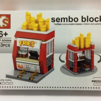 Jual Lego City Fries Store - Sembo block SD6064 Murah