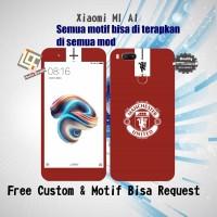 harga Garskin Hp Xiaomi Mi A1 Motif Manchester United - Motif Bisa Request Tokopedia.com