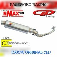 harga Knalpot Cld C3 N Max Silencer Oval Doff Tokopedia.com