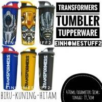 Jual Tempat Minum Gelas Anak Transformers Tumbler Tuppeware Murah