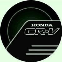 Jual cover ban serep mobil Honda CR-V new black Murah