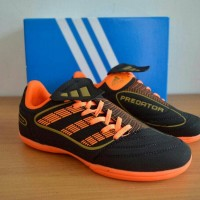 Sepatu Futsal Adidas Predator Hitam Orange