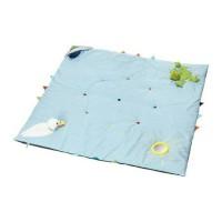 IKEA LEKA Karpet Mainan Bayi, Baby Playmat, 118 x 118 cm, Biru