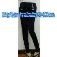 harga Celana Panjang Hitam Denim Zara Basic Women Woman Wanita Murah Banget Tokopedia.com
