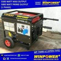 Genset / Generator Loncin 6000 Watt,untuk rumah, Electric - WP9500E-LC