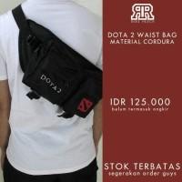Merchandise Waistbag dota 2 PREMIUM QUALITY FREE STICKER
