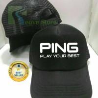 Topi Trucker Ping Golf Baseball Snapback - Reove Store