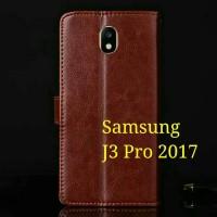 Flip Cover Samsung Galaxy J3 Pro J3Pro 2017 J330 Wallet Leather Case