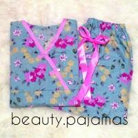 Jual pajamas piyama murah kimono baju tidur katun jepang adem Murah