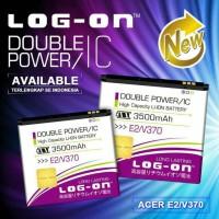 harga Batre Dobel Power Acer E2/v370 Baterai Log On Double Power/2 Ic Tokopedia.com