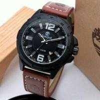 Jam Tangan Pria Timberland Date Leather New Edition