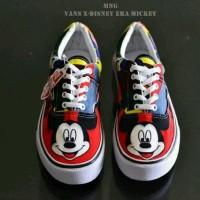 harga Sepatu Vans Authentic Karakter Mickey Mouse Sneakers Wanita Casual Tokopedia.com
