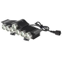TrustFire Lampu sepeda LED 7x Cree XM-L2 3200 Lumens - TR-D013 - Bla