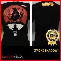 harga Kaos Distro Baju T-shirts Murah Anime Film Kartun Naruto Itachi Uchiha Tokopedia.com