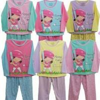 Jual Piyama Anak / Baju Anak / Piyama Panjang / Baju Tidur Anak / Perempuan Murah