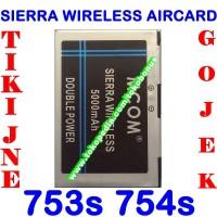 harga Baterai Modem Sierra Wireless Aircard 753s 754s Mcom Batrai Battery Tokopedia.com